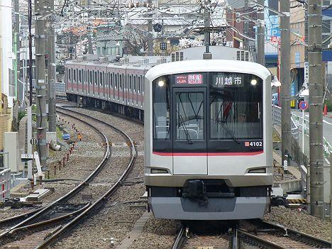 東急東横線 特急 川越市行き 5050系