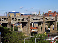 High Level Bridge, Gateshead, Newcastle,Railways,Robert Stephenson,Photo Bridge Newcastle,George and Robert Stephenson, Trains, Train Station, Northumbrian Images Blogspot,North East, England,Photos,Photographs