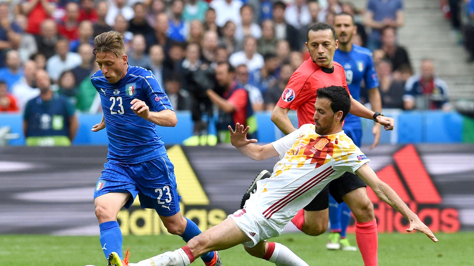 Italia doblegó a España y avanza a Cuartos de Final de la Euro
