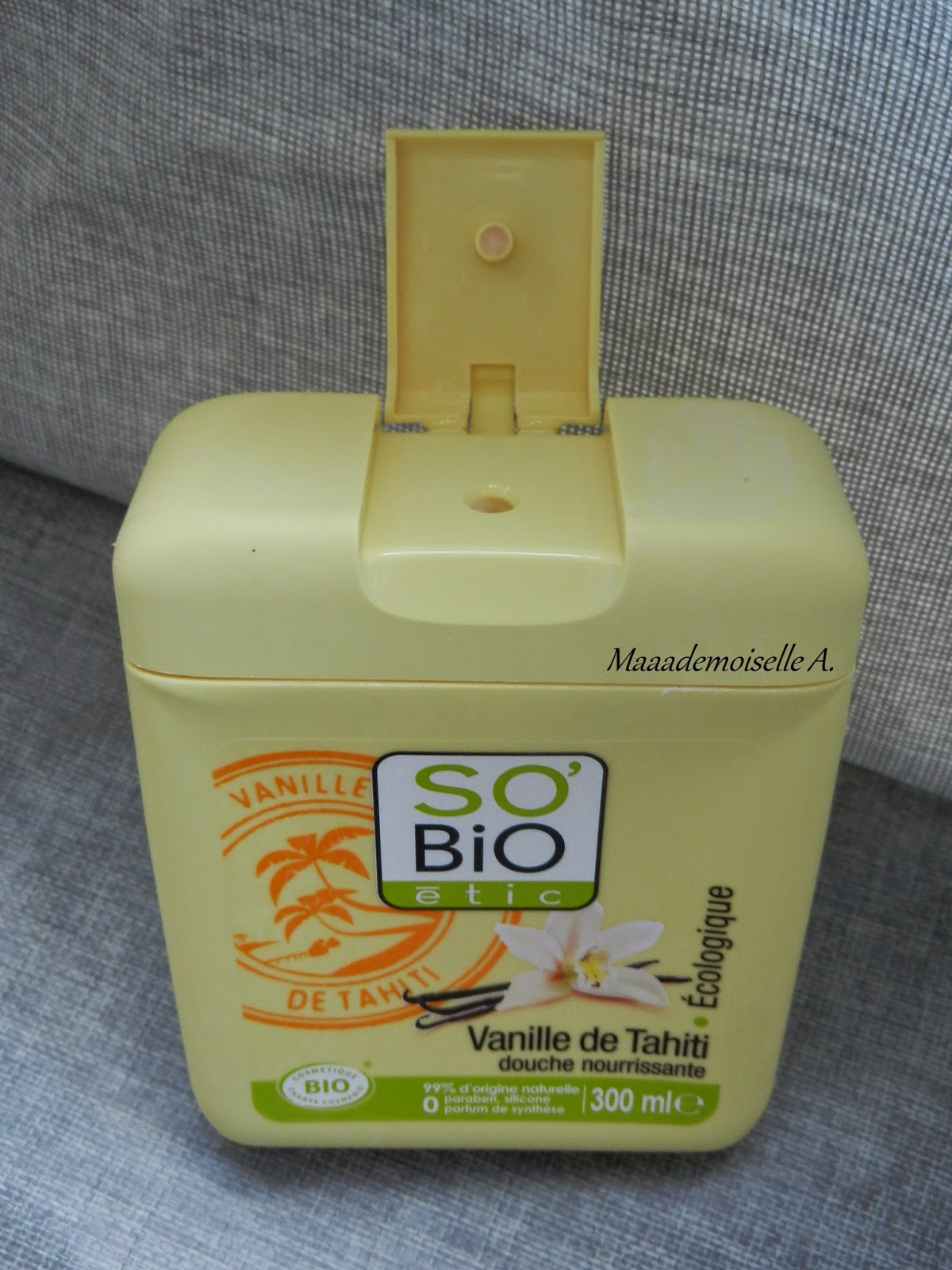 Gel douche So Bio Etic Vanille de Tahiti [Test & Avis]