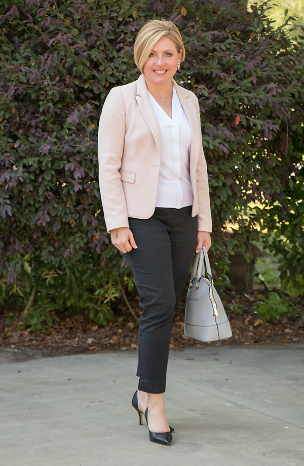 ankle pants outfit, office outfit