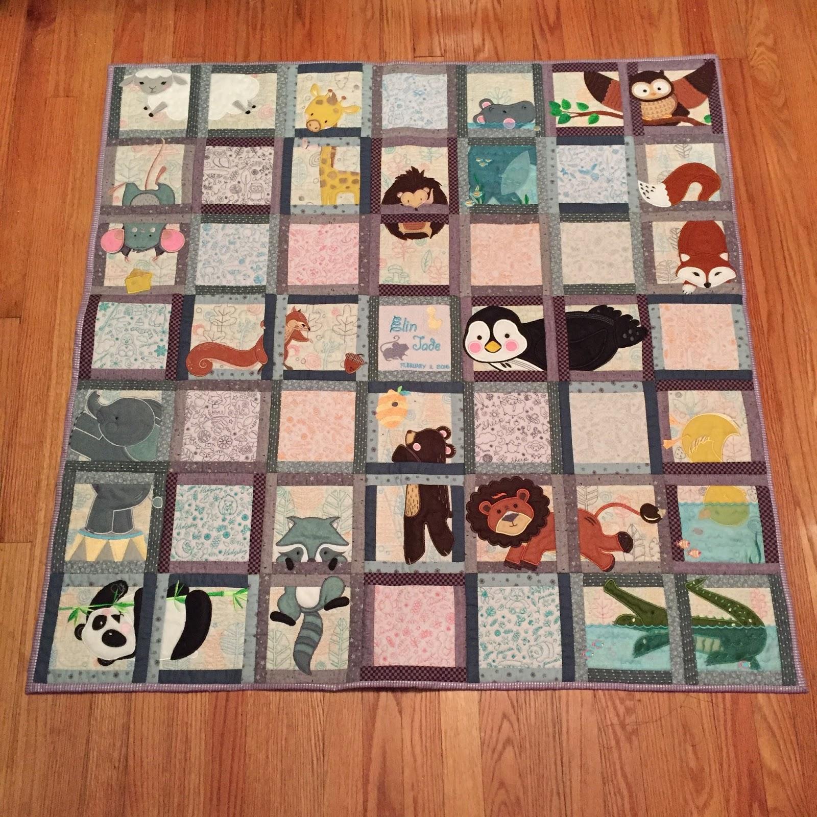 Sew Many Quilts Amp More Anita Goodesign S Animal Adventures