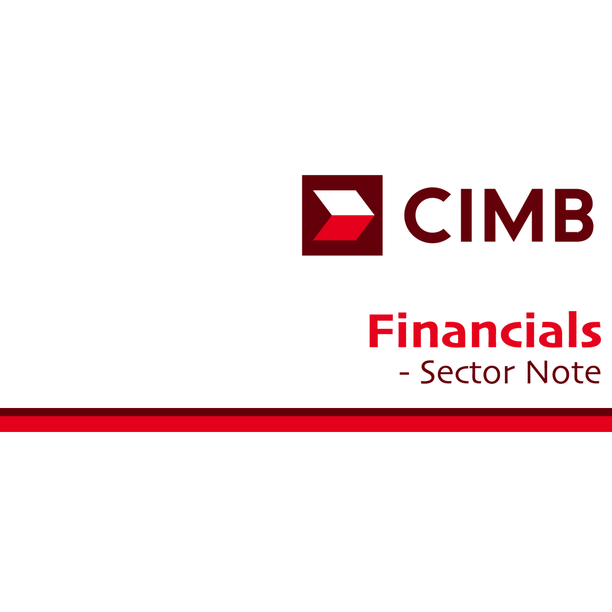 Financials Sector - CIMB Research 2017-05-30: Neutral From Underweight