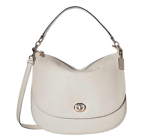 Amazon: COACH Pebbled Turnlock Hobo only $145 (reg $347) + Free Shipping!