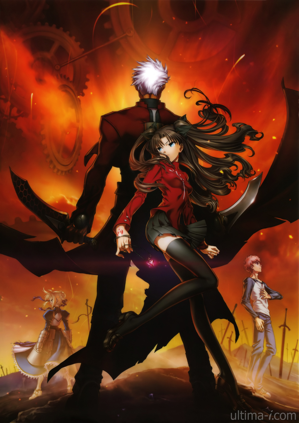 Fate Stay Night Unlimited Blade Works Ger Sub
