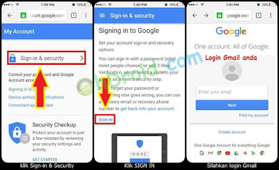 Cara Ganti Password Gmail di Android dan iPhone