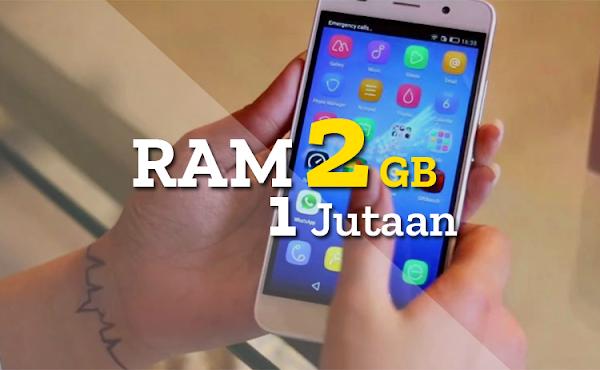 Rekomendasi 7 HP Android RAM 2 GB Terbaik dengan Harga 1 Jutaan