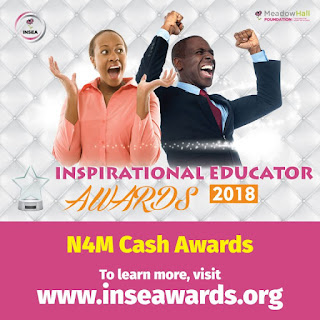 Meadow Hall Foundation Inspirational Educator Awards (INSEA) for Best Teachers - 2018