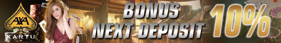 Poker Online Indonesia Bonus Deposit 10%