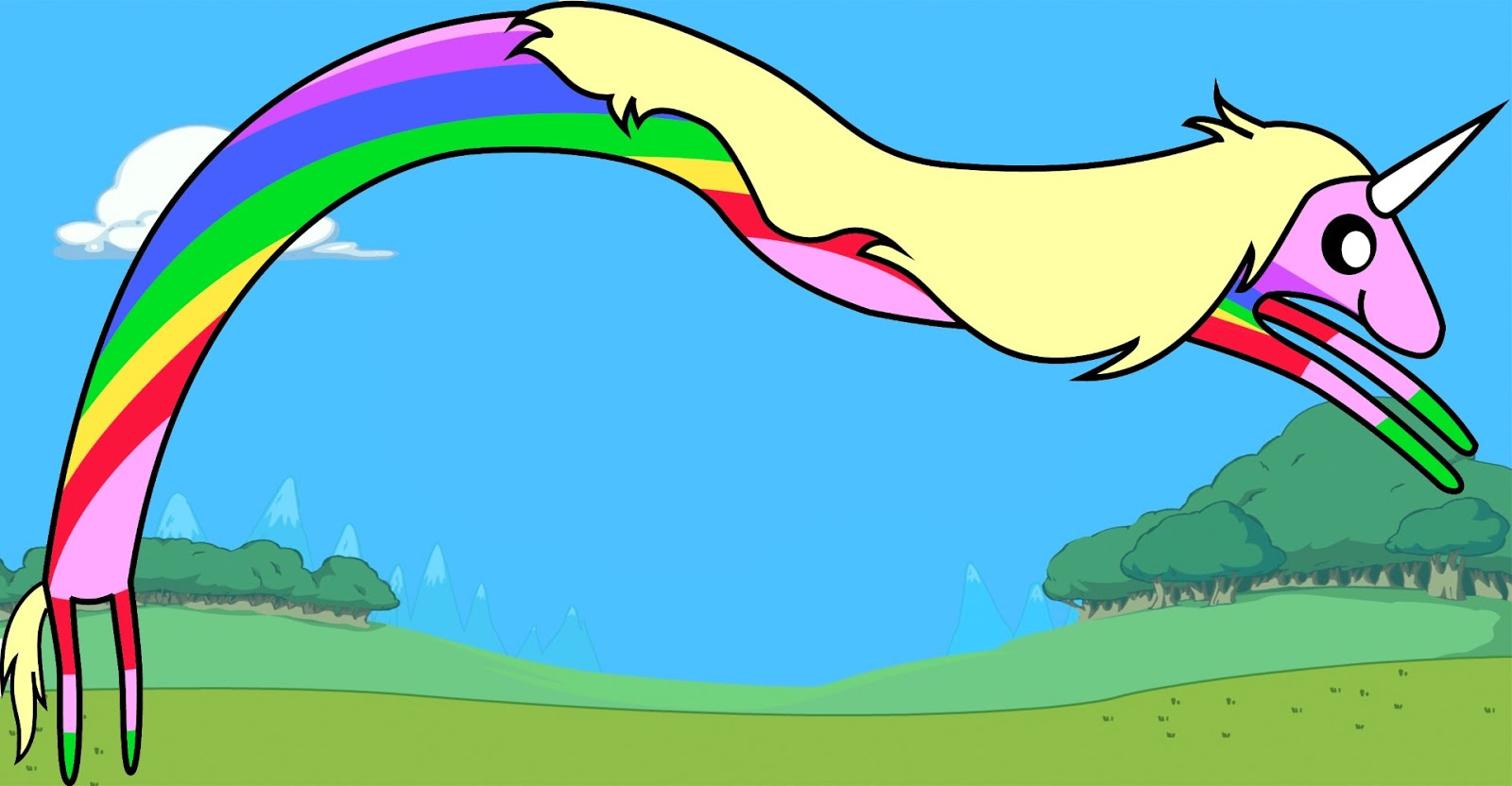How To Draw Lady Rainicorn From Adventure Time Draw Central