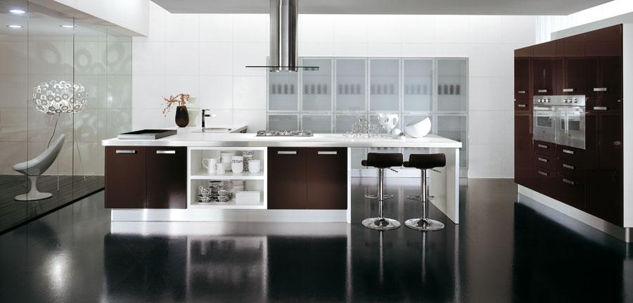 12 ambientes seductores de concepto abierto  Cocinas con