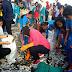 Risma Bersama Siswa Bersihkan pantai Kenjeran Surabaya