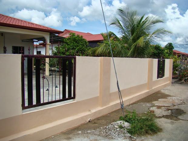 Rekabentuk Pagar Rumah Teres