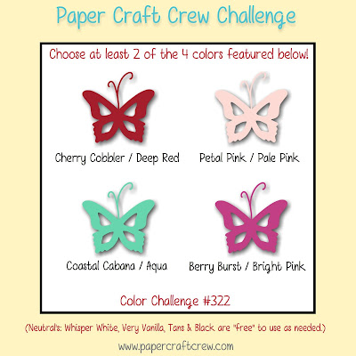 Paper Craft Crew Colour Challenge #PCC322