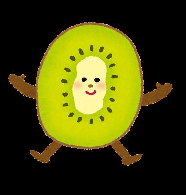 キウイフルーツのキャラクター