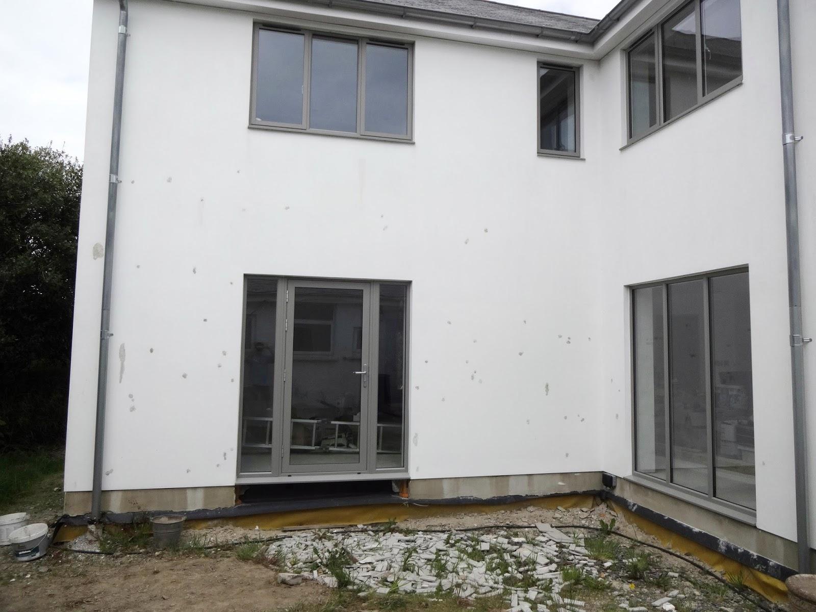 Vas Home Build Outside Front Door Step Render Repairs