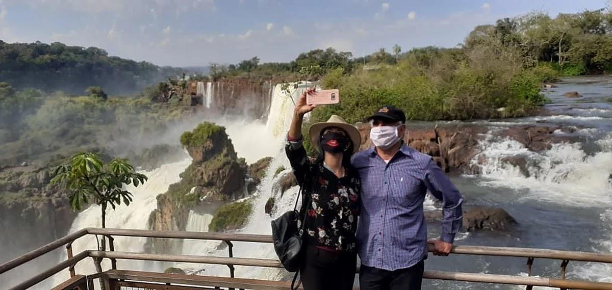 VIDEO: Las Cataratas del Iguazú reabrieron sus puertas tras 120 días sin visitas