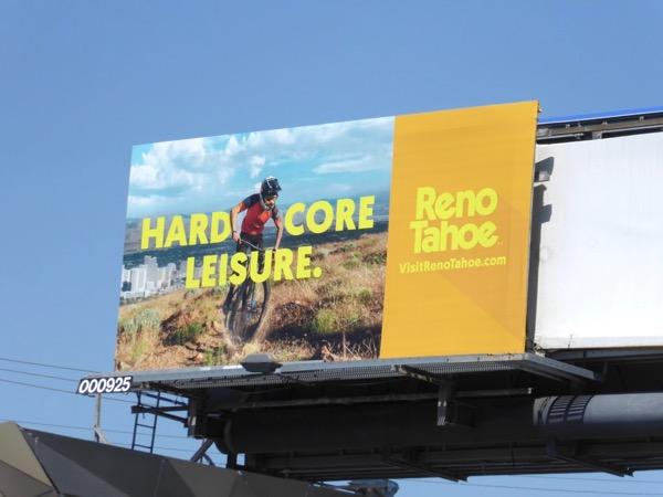 Hardcore Leisure Reno Tahoe billboard