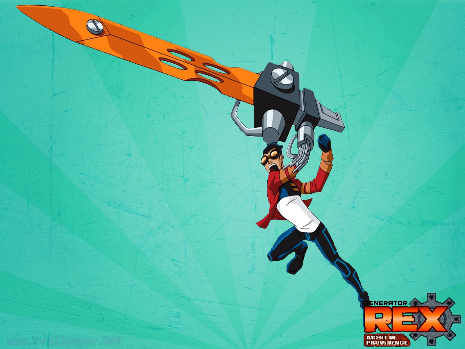 Generator Rex Cartoon Network HD Desktop Wallpaper ...