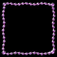 Moldura em png lilás