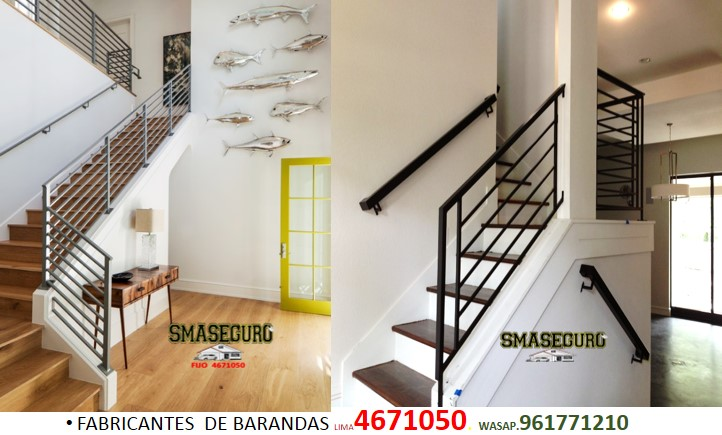 Barandas para escaleras for Pasamanos de escaleras interiores