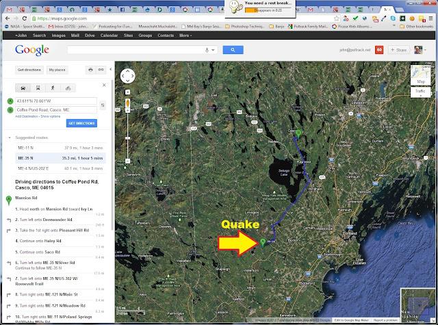 Poltrack Blog Earthquake 7 13pm Oct 16th 2012