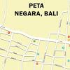 Peta Kota Negara Bali