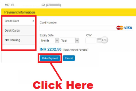 bharat gas online payment charges