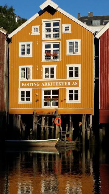 Malererische Fotomotive findet man in Trondheim an jeder Ecke