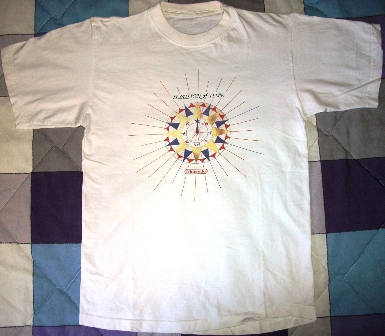 Illusion of Time - Camiseta oficial