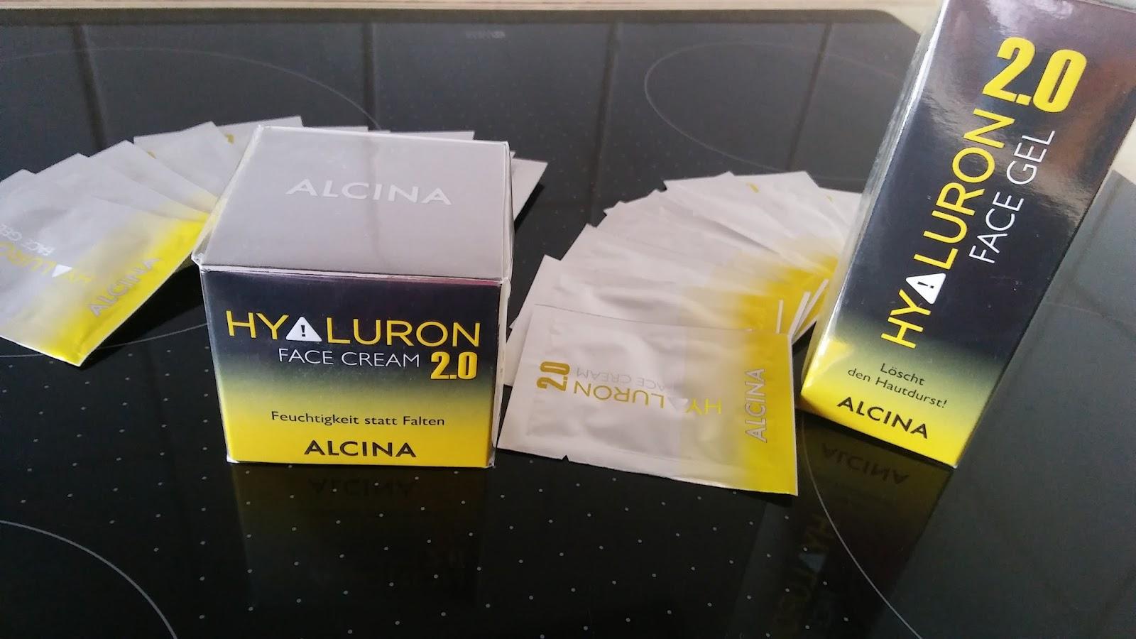 Engel 2016 Testet Gern Alcina Hyaluron 20 Face Gel Und Hyaluron