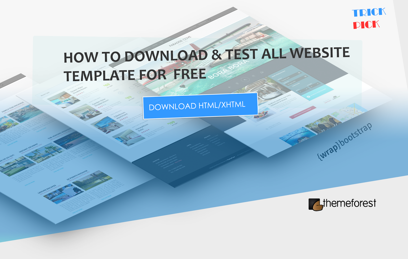Free Download Test Themeforest HTML Templates Hi Guys Today I Want To Share My Favorite And Awesome Trick For Web Designer