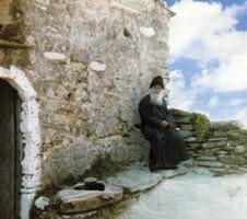 Ο Άγιος Πορφύριος στον Άγιο Νικόλαο Καλλισίων