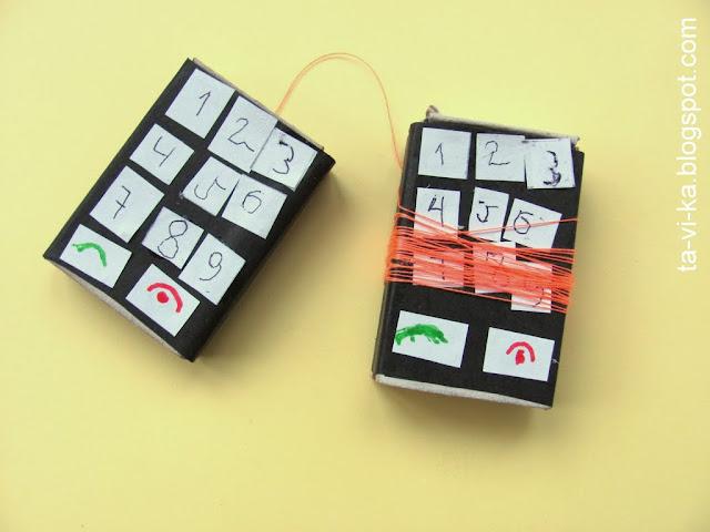 ниточный телефон в подарок на 23 февраля