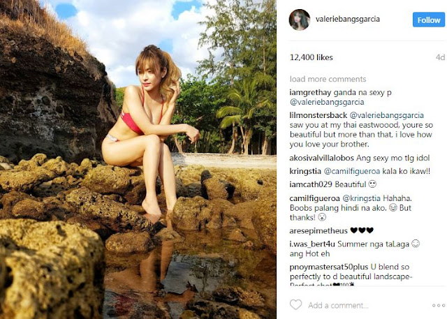 The Gorgeous Bangs Garcia Proves That Her Beach Body Is Hotter Than The Summer Heat!