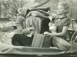 Jack Benny Ann Sheridan in George Washington Slept Here 1942