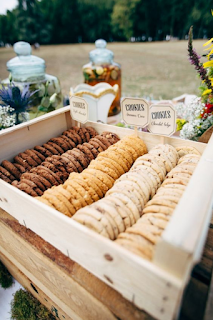 bar à cookies mariage d'hiver  blog mariage www.unjourmonprinceviendra26.com