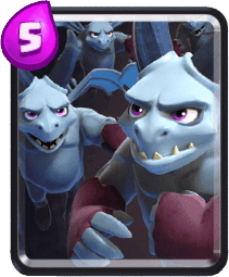 Carta Horda de Servos de Clash Royale - Cards Wiki