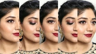 Indian Wedding Makeup Look with Clinique