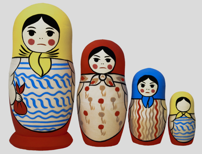 Matryoshka Doll, Tinker Tailor Soldier Spy, John Le Carre