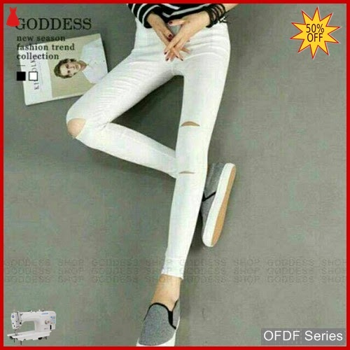 OFDF182 Jeans Ripped Jeans Domijunshi Super Streetch BMGShop