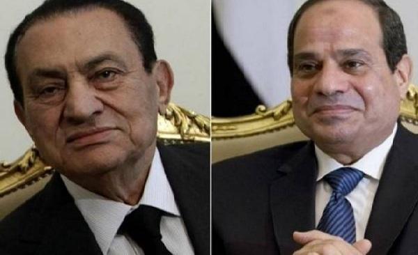 أول رد من مبارك على السيسي بعد إعلان تبعية «تيران وصنافير» للسعودية
