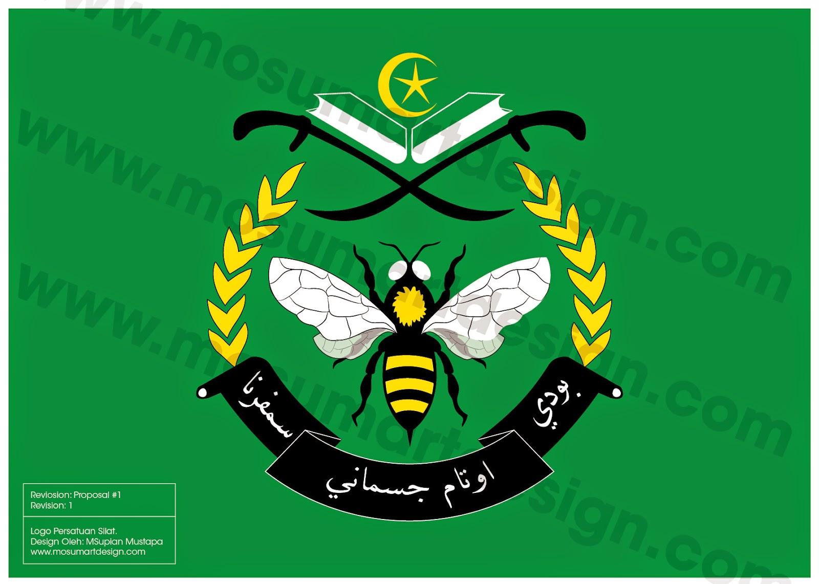 Design Logo Silat dan persatuan