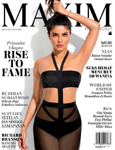 Download Gratis Majalah MAXIM Indonesia Edisi Agustus 2016  Priyanka Chopra, Gita Sinaga, Hannah Davis | www.insight-zone.com