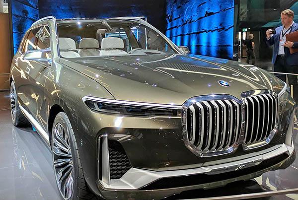 Burlappcar 2019 Bmw X7