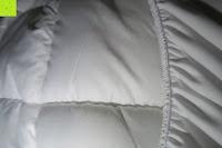 Falten: MESANA Premium Matratzen-Schoner | Größe: 140x200 cm, Höhe: 27cm | weiß aus Soft Touch Microfaser | 100% Polyester | Matratzen-Auflage auch für Ihr Boxspring-Bett und Wasserbett | Unter-Bett