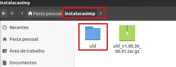 pacotes descompactado da impressora samsung para linux