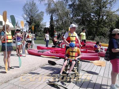 Piragüismo Aranjuez Discapacitados Fundación También