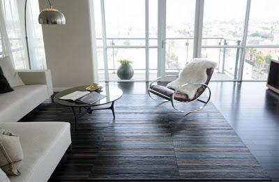 Unik, Lantai yang Terbuat dari Ikat Pinggang