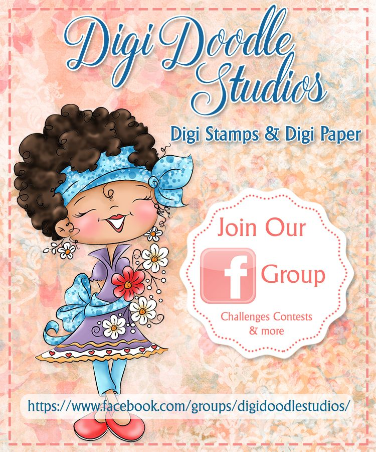 Digi Doodles Facebook Fan